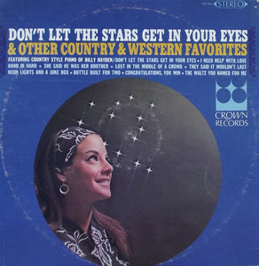 Billy Hayden / Don't Let The Stars Get In Your Eyes & Other Country & Western Favorites - LP (used)