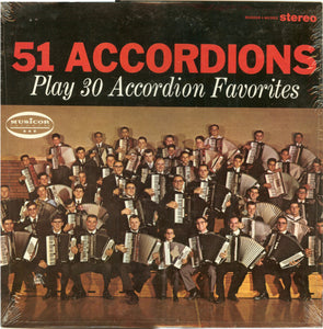 51 Accordions - Play 30 Accordion Favorites - LP (used)