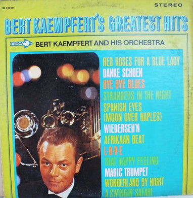 Bert Kaempfert And His Orchestra ‎/ Bert Kaempfert's Greatest Hits - LP Used