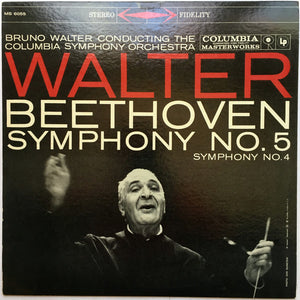 Bruno Walter, / Beethoven* ‎- Symphony No. 5 · Symphony No. 4 - LP Used