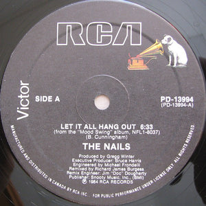 The Nails ‎/ Let It All Hang Out - LP (12'')