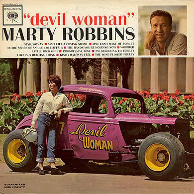 Marty Robbins ‎/ Devil Woman - LP Used
