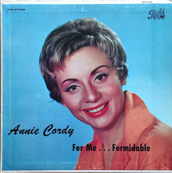 Annie Cordy ‎/ For Me... Formidable - LP Used