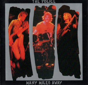 The Police ‎/ Many Miles Away - CD Used