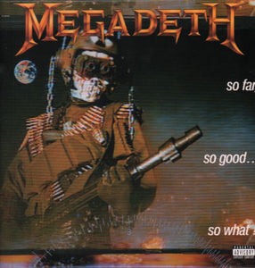 Megadeth / So Far, So Good... So What - LP