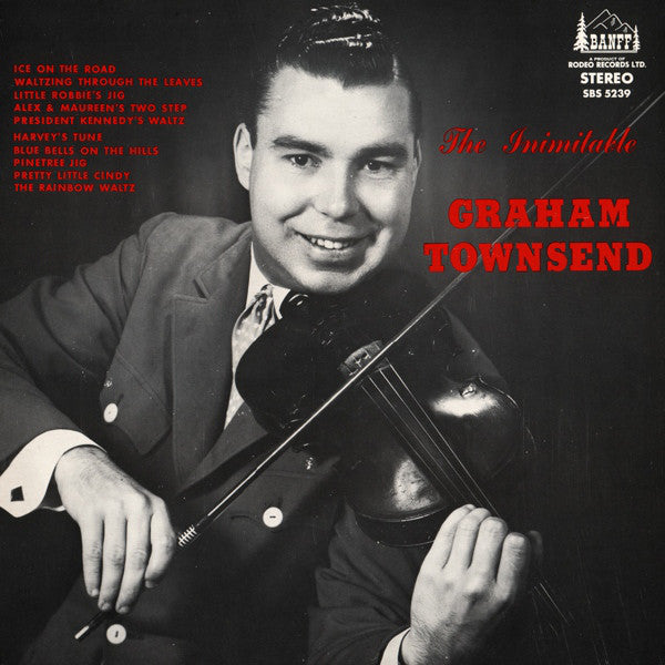Graham Townsend / The Inimitable Graham Townsend - LP (used)