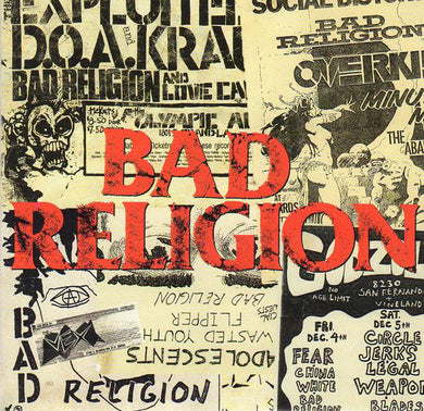 Bad Religion ‎/ All Ages - CD