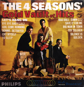 The 4 Seasons ‎/ The 4 Seasons' Gold Vault Of Hits - LP Used