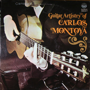Carlos Montoya / Guitar Artistry Of Carlos - LP (used)