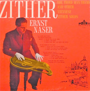 Ernst Naser ‎/ The Third Man Theme And Other Viennese Zither Solos - LP (used)