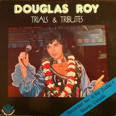 Douglas Roy ‎/ Trials & Tributes - LP Used