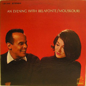 Belafonte * Mouskouri ‎/ An Evening With Belafonte * Mouskouri - LP Used