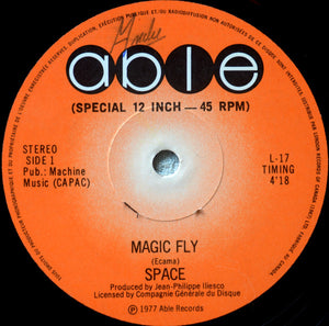 Space ‎/ Magic Fly - 12'' Used