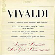 Vivaldi, Leonard Bernstein, New York Philharmonic / Four Concertos - LP (used)