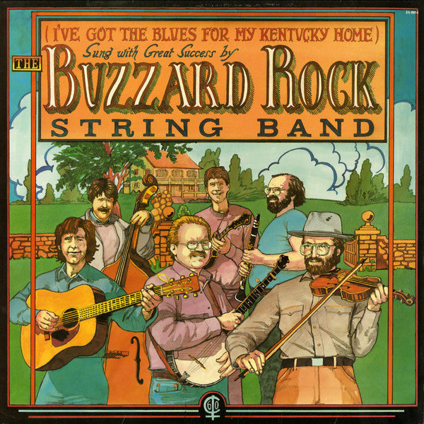 Buzzard Rock String Band ‎/ (I've Got The Blues For My Kentucky Home) - LP Used
