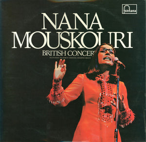 Nana Mouskouri ‎/ British Concert - LP Used