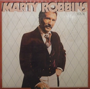 Marty Robbins ‎/ Greatest Hits Vol. IV - LP Used
