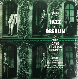 The Dave Brubeck Quartet / Jazz At Oberlin - LP