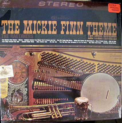 The Ragtimers ‎/ The Mickie Finn Theme And Other Favorites - LP (used)