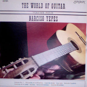 Narciso Yepes ‎/ The World Of Guitar Volume 4 - LP (used)