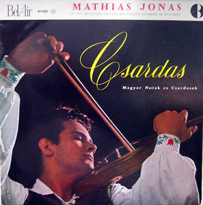 Mathias Jonas / Csardas - LP (used)