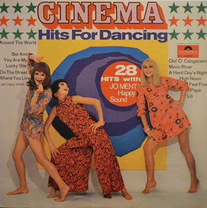 Jo Ment's Happy Sound ‎/ Cinema Hits For Dancing - LP (used)