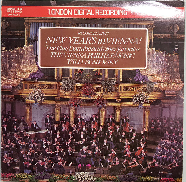 The Vienna Philharmonic, Willi Boskovsky / New Year's In Vienna! - LP (used)