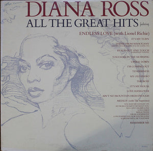 Diana Ross ‎/ All The Great Hits - LP Used