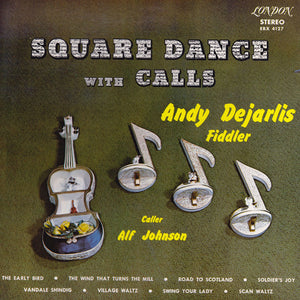 Andy De Jarlis / Square Dance With Calls - LP (used)