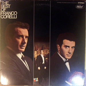 Franco Corelli ‎/ The Best Of Franco Corelli - LP (used)