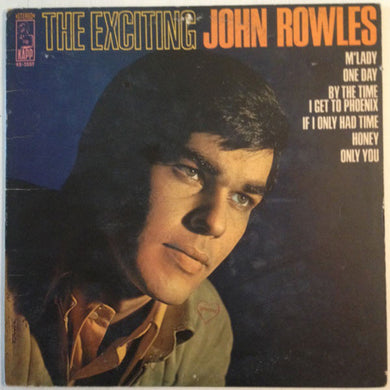 John Rowles ‎/ The Exciting John Rowles - LP Used