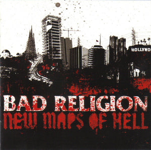 Bad Religion ‎/ New Maps Of Hell - CD