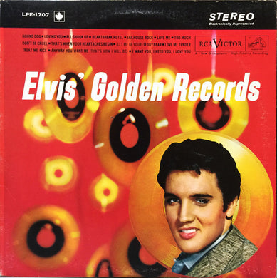 Elvis Presley ‎/ Elvis' Golden Records - LP Used