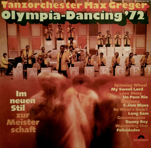Tanzorchester Max Greger / Olympia-Dancing '72 -LP (used)