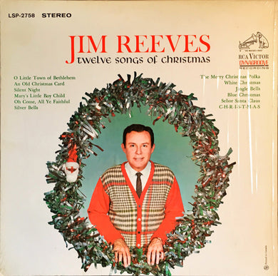 Jim Reeves ‎/ Twelve Songs Of Christmas - LP Used