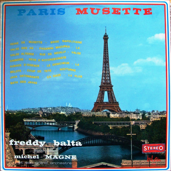 Freddy Balta, Michel Magne Et Son Orchestre / Paris Musette - LP (used)