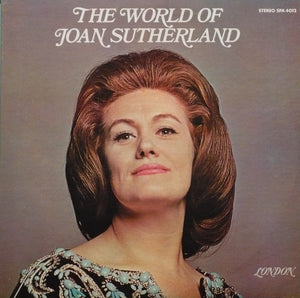Joan Sutherland ‎/ The World Of Joan Sutherland - LP (used)
