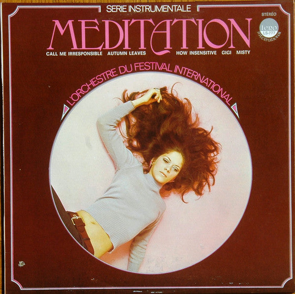 L'Orchestre du festival international / Meditation - LP (used)