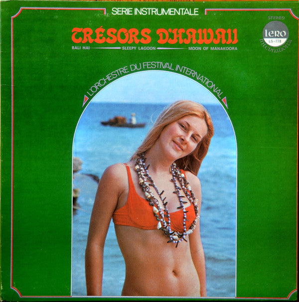 L'Orchestre du festival international / Trésors d'Hawaii - LP (used)