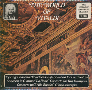Various / The World Of Vivaldi - LP (used)