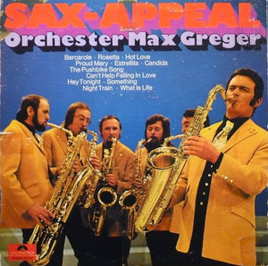 Max Greger ‎/ Sax-Appeal - LP (used)