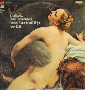 Tchaikovsky*, Peter Katin, Edric Kundell, Sir Adrian Boult, The London Philharmonic Orchestra ‎/ Piano Concerto No.1 / Concert Fantasia In G Minor - LP (used)