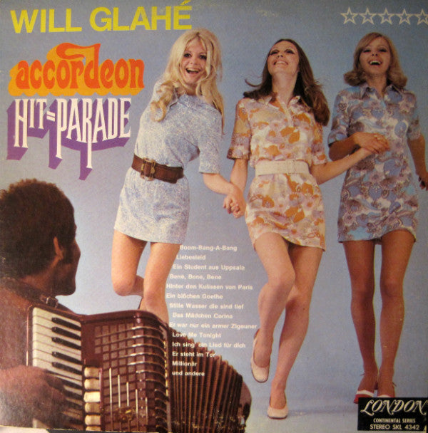 Will Glahé, Will Glahé Und Sein Orchester / Accordeon Hit=Parade - LP (used)