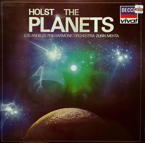 Holst, Los Angeles Philharmonic Orchestra, Zubin Mehta ‎/ The Planets - Les Planètes - Die Planeten - LP Used