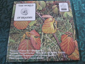 Various ‎/ The World Of Brahms - LP (used)