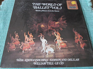 Anatole Fistoulari, Paris Conservatoire Orchestra*, Jean Martinon, Israel Philharmonic Orchestra ‎/ The World Of Ballet Vol. 3: Ballet Music From The Opera - LP (used)