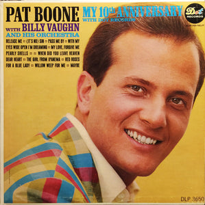 Pat Boone / My 10th Anniversary With Dot Records - LP (used)