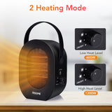 Hisome Portable tabletop space heater