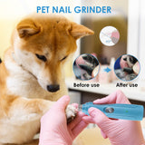 Painless Pet Dog Nail Grinder Set for Dog Health