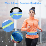 Running Belt Waist Pack for Hiking Fitness – Adjustable Waist Pouch for iPhone Xs/Max/XR/8/7puls/6